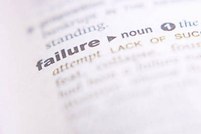 Saturday Musings - I'm a Failure...