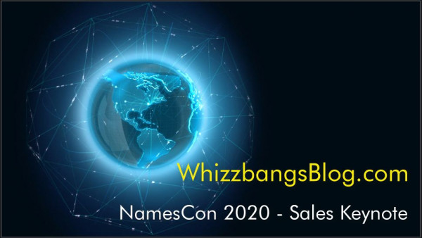 NamesCon Keynote - Domain Sales