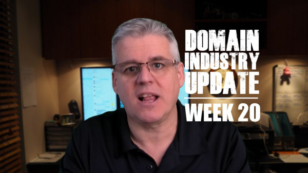 Domain Industry Update - Week 20