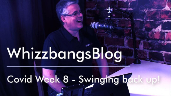 COVID Week 8 – Swinging Back Up!
