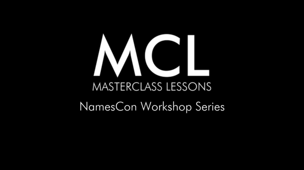 NamesCon Workshops