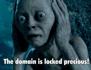 The Domain is locked precious!