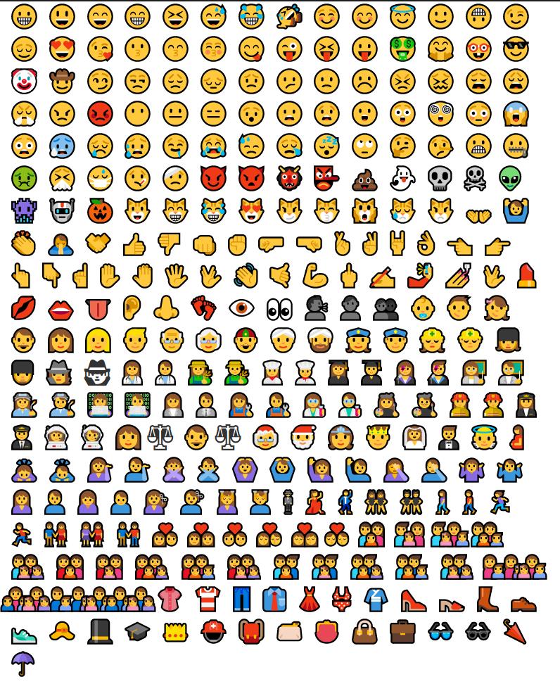 Emoji For Profile 2017-11-13