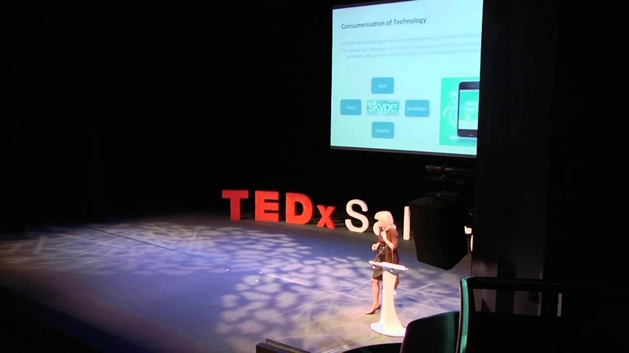 The art of entrepreneurship: Julie Meyer at TEDxSalford
