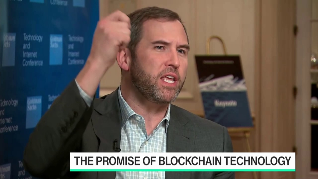 Ripple CEO interviewed at Bloomberg