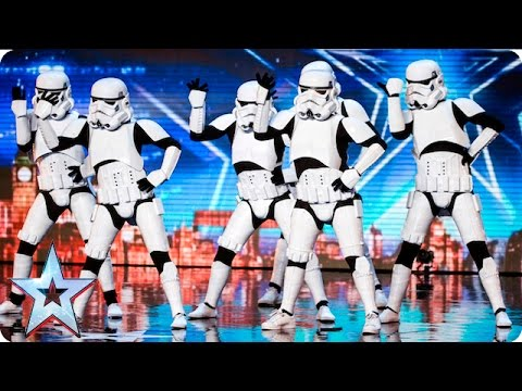 Boogie Storm make Simon's dream come true! | Auditions Week 5 | Britain's Got Talent 2016