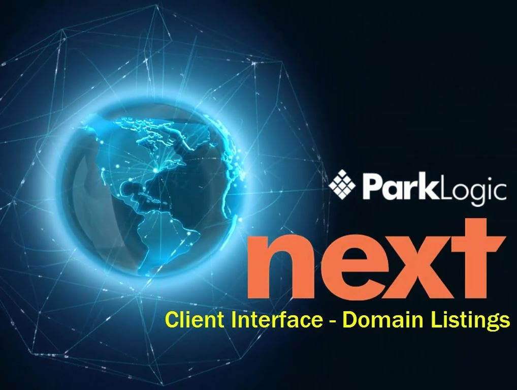 ParkLogic Next - Domain Listings
